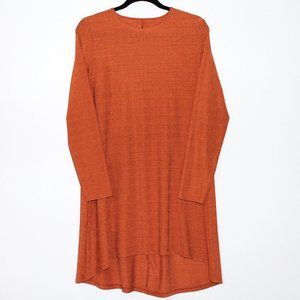 Orange Loose Fit Tunic Top Size Medium / Large